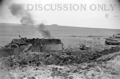 Thumbnail image: Tiger 142 exploded and inverted