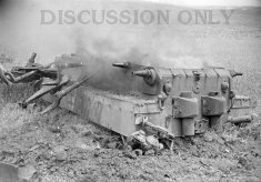 Thumbnail image: Wreckage of Tiger 142
