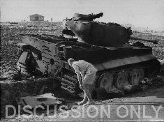 Wreck of Tiger 211