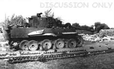 Wrecked Tiger in Sicily