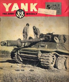 Thumbnail image: Tiger 121 on Yank magazine