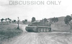 Tiger 131 performs a turn