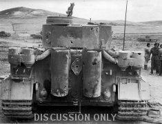 Tiger 131 and Djebel Bou Mous