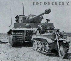 Tiger 131 and a Kettenkrad