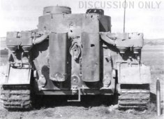Tiger 131 and a shell