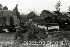Tiger 134 in the mud