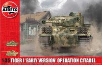 The box-art for the 'Tiger 1 Operation Citadel' from Airfix
