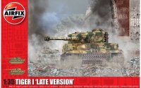 The box-art for the 'Tiger 1 Late Version' from Airfix