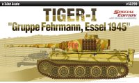 The box-art for the 'Tiger-1 Gruppe Fehrmann' from Academy