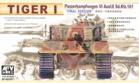 """The box-art for the 'Tiger I """"FINAL VERSION""""' from Hobby Fan"""