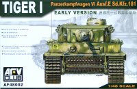 The box-art for the 'Tiger I EARLY VERSION' from Hobby Fan
