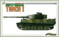 The box-art for the 'Gruppe Fehrmann Tiger 1' from Cyber Hobby