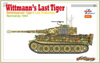 The box-art for the 'Wittman's last Tiger' from Cyber Hobby