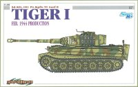 The box-art for the 'Tiger I, Feb. 1944 Production' from Cyber Hobby