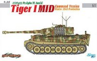 The box-art for the 'Tiger I Mid Command Version, Winter 1943 Production' from Cyber Hobby