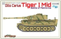 The box-art of the 'Otto Carius Tiger I Mid'