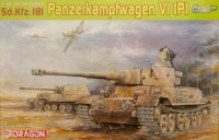 The box-art of the 'Sd.Kfz.181 Panzerkampfwagen VI(P)'