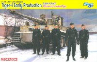 The box-art for the 'Tiger-I Early Production, Wittmann's Command Tiger' from Dragon