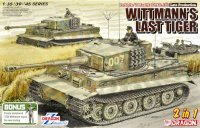 The box-art for the 'Wittmann's Last Tiger' from Dragon