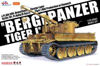 The box-art of the 'Bergepanzer Tiger 1'