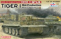 The box-art of the 'Tiger I Mid-Production Otto Carius'