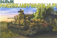 The box-art for the 'Panzerkampfwagen VI (P)' from Dragon