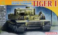 The box-art of the 'Gruppe Fehrmann Tiger I'