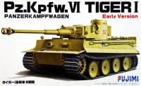 The box-art of the 'Pz.Kpfw.VI Tiger 1 early version'