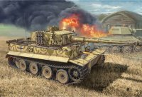 The box-art of the 'Tiger Ausf. E Early production'