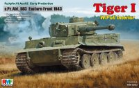 The box-art of the 'Tiger 1 s.Pz.Abt.503 Eastern Front 1943'