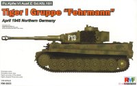 "The box-art for the 'Tiger 1 Gruppe ""Fehrmann""' from Rye Field Model"