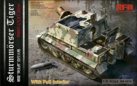 The box-art for the 'Sturmmörser Tiger' from Rye Field Model