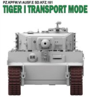 The box-art of the 'Tiger I Transport Mode Links'