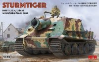 The box-art of the 'Sturmtiger'