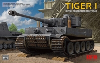 The box-art of the 'Tiger 1 Initial Production Early 1943'