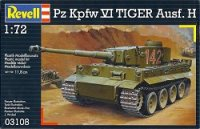 The box-art for the 'Pz Kpfw VI Tiger Ausf. H' from Revell