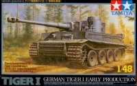 The box-art of the 'GERMAN TIGER I EARLY PRODUCTION'