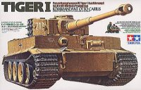 The box-art for the 'Tiger I, Kommandant Otto Karius' from Tamiya