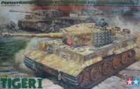 The box-art of the 'Late version Tiger I'
