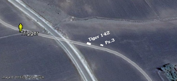 Terrain where Tiger was exploded