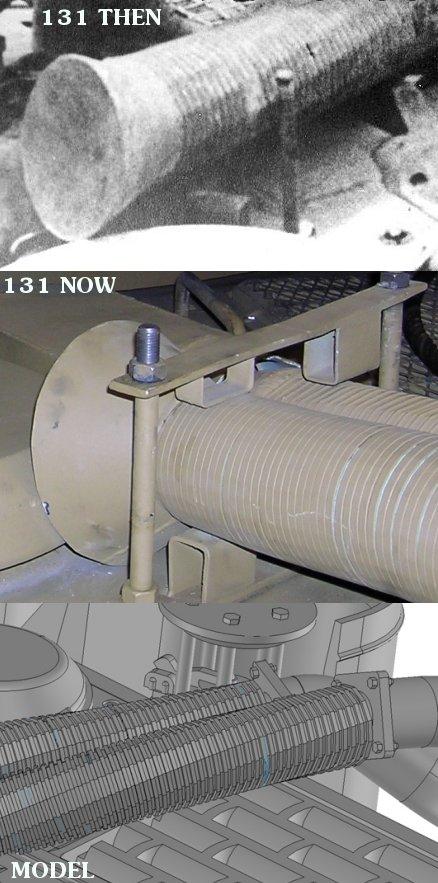 Feifel tubes on Tiger 131