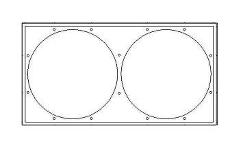 Fans cover plate diagram
