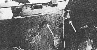 Turret hooks on Bergetiger