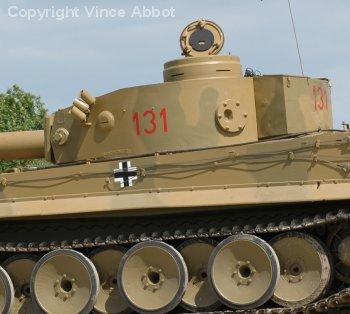 Tiger 131 restored