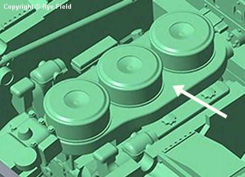 Engine filters on RFM Tiger