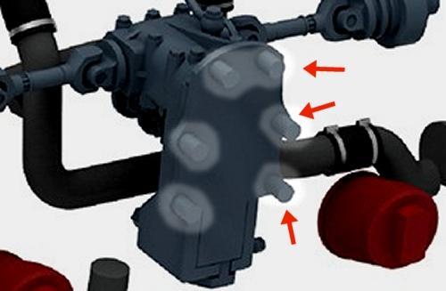 Fan drive gearbox mounts