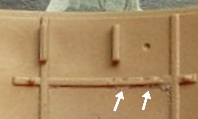 Ammo bag positions in Rye Field turret