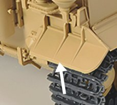 Mudguards on Rye Field Model Tiger kit