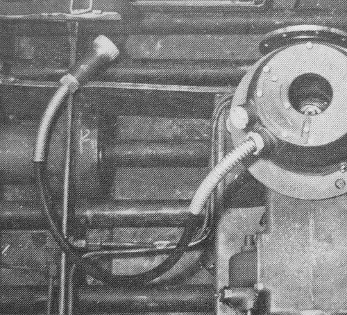 Slip ring in a Panther
