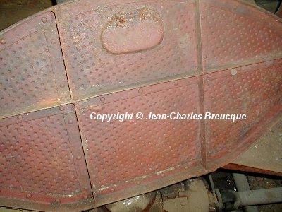 Colour of turret floor